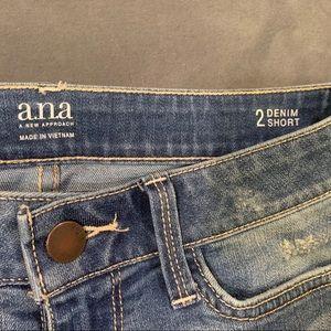 ana denim shorts